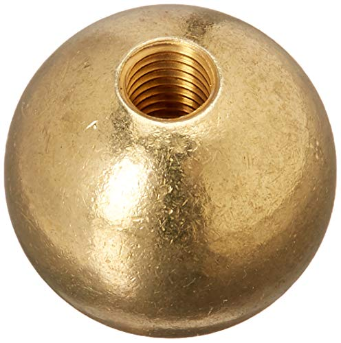 Antique Brass Ball Lamp Shade Finial by Universal Lighting and Decor (Image #1)