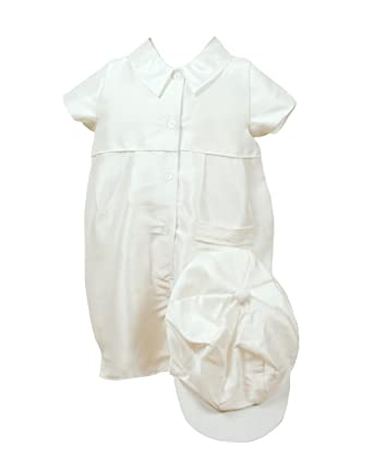 787a85a08 Heritage Caine Boys Christening Outfit, 3 to 6 Months, Silk: Amazon.co.uk:  Baby