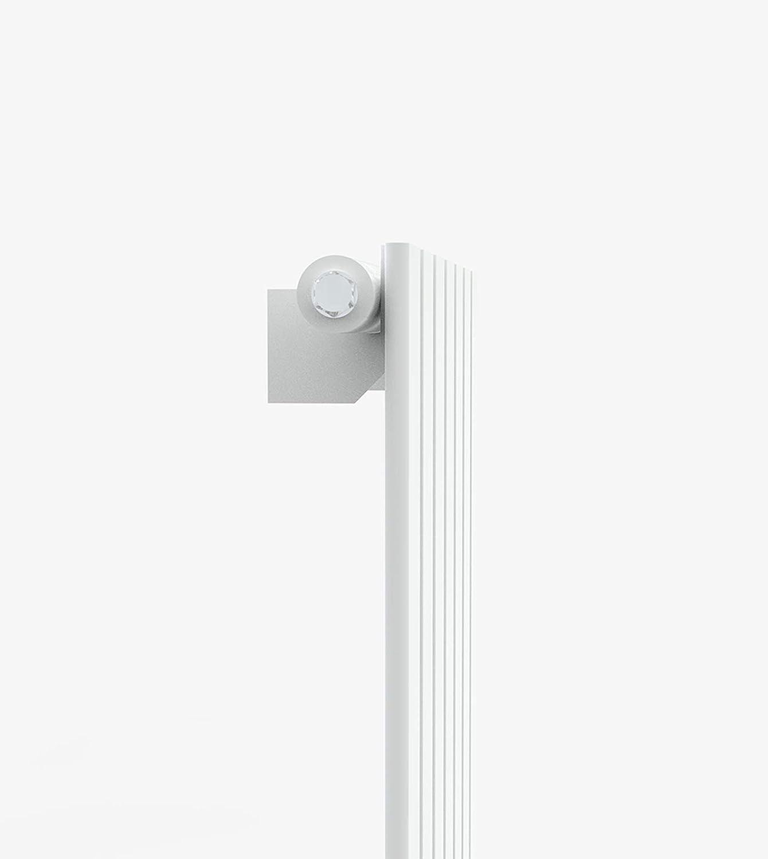 Design Flach Heizk/örper Badheizk/örper 1800x456mm Wei/ß Paneelheizk/örper Wohnraumheizk/örper Plattenheizk/örper Mittelanschluss Doppellagig 1472Watt