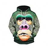 3d hats and hats clothes printing loose cap sweater large size men 's men' s pullover , l6501 , l