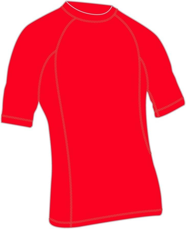 メンズ半袖ラッシュガードUPF 50 + Swimシャツ