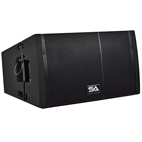 Seismic Audio with SAXLP-12A - [並行輸入品] Powered 12 Line Array Compression Speaker with Dual Compression Drivers [並行輸入品] B07MKX1TMP, Z-CRAFT:b27857bf --- kapapa.site