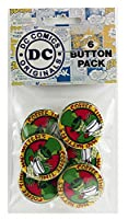 Button set DC Comics Batman Mad Hatter Button (6-Piece), 1.25""