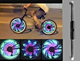Weicam Waterproof 36 LED Colorful RGB 32 Pattern Bicycle Bike Wheel Spoke Light