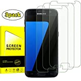 [3-Pack]Galaxy S7 Clear Tempered Glass Screen Protector [Anti-Bubble][9H Hardness] Screen Protector Screen protector for Samsung Galaxy S7