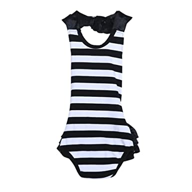 07b682b2a326 Silveroneuk Newborn Kids Baby Girls Clothes Lace Jumpsuit Romper Outfits
