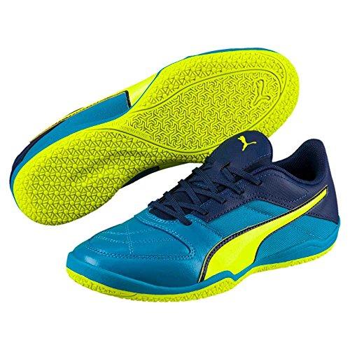 Puma Scarpe da calcetto uomo Giallo blu