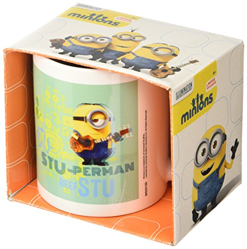 "Minions Despicable Me ""Stuart"" Ceramic Mug, Multi-Colour"