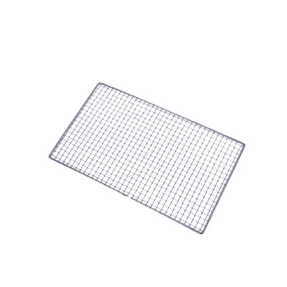 Barbecue Grill Stainless Steel Net Multi-Purpose Squares Replacement Mesh for Steaming Cooling Barbecue Racks,Carbon Baking Net, Grills, Cooking Grates Outdoor Picnic Camping Cooking Tool(25*40cm) ZAK168