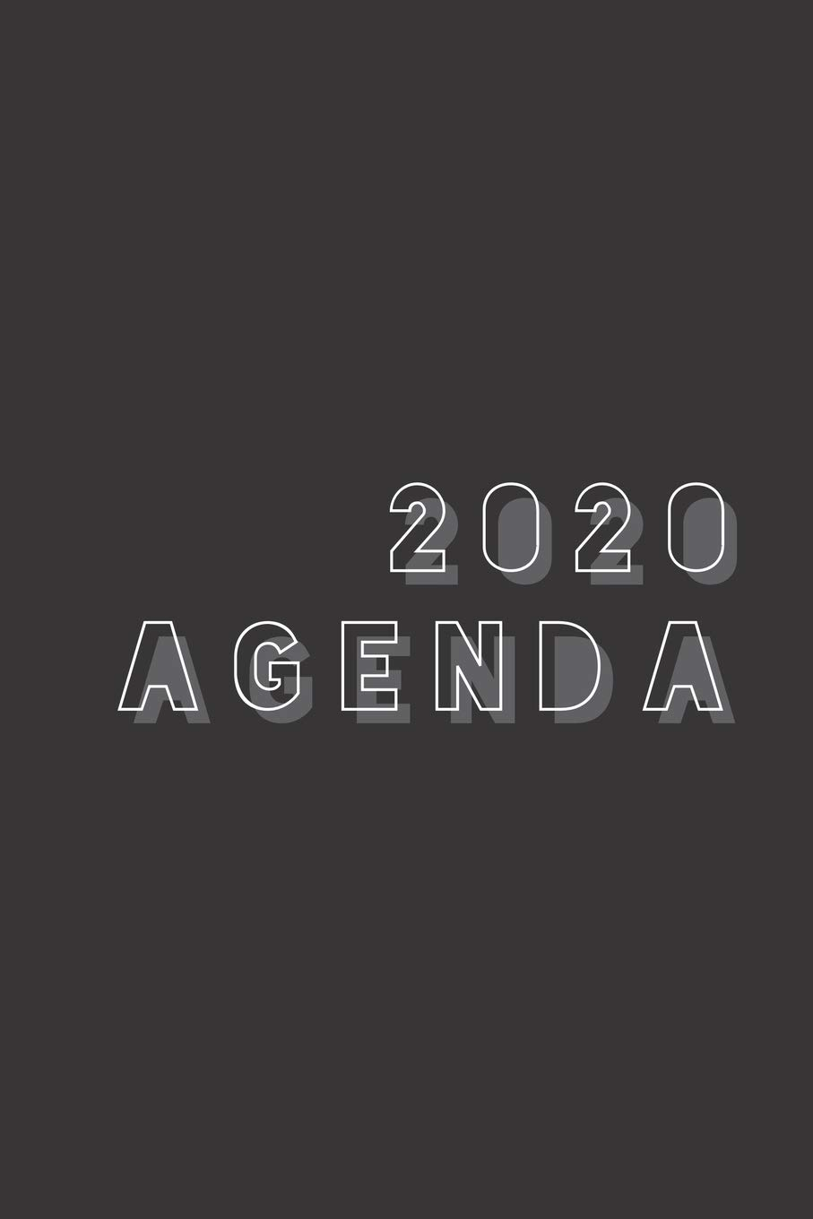 2020 Agenda: A Basic Weekly Planner For The End Of The Era ...