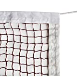 DOURR Badminton Tournament Net with Rope Cable (20 FT x 2.5 FT)