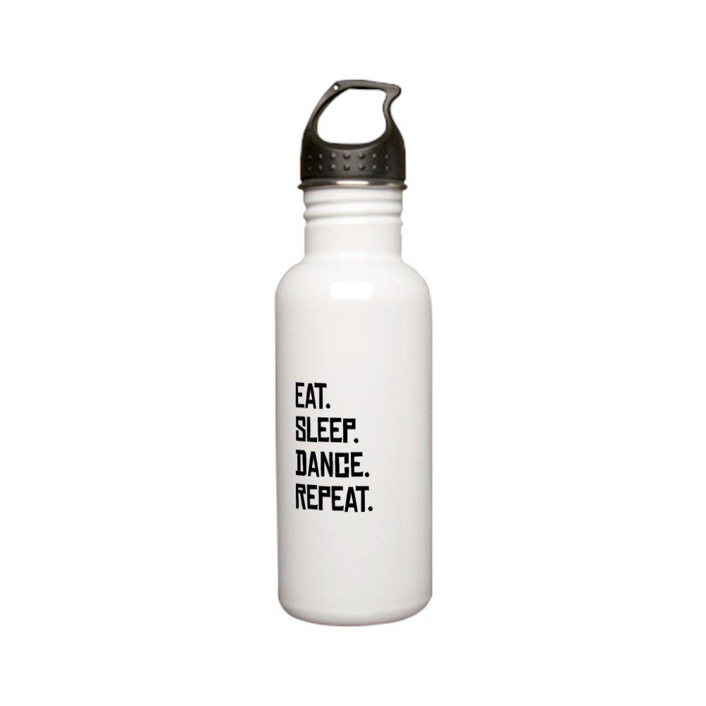 CafePress - Eat Sleep Dance Repeat Stainless Steel Water Bottl - Stainless Steel Water Bottle, 0.6L Sports Bottle
