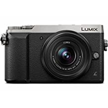 Panasonic LUMIX GX85 4K Mirrorless Interchangeable Lens Camera Kit, 12-32mm Lens, 16 Megapixels, Dual Image Stabilization, Electronic Viewfinder, WiFi - Silver