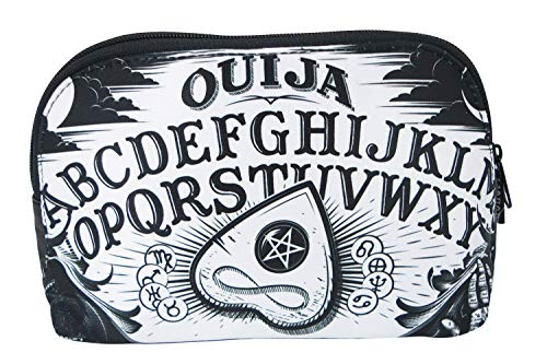 Punk Makeup For Halloween (Liquorbrand Ouija Board Halloween Goth Unisex Cosmetic Make-up Shave Bag)