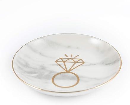 Catchall Wedding Ring Dish Jewelry Holder Jewelry Dish Engagement Gift Minimalist