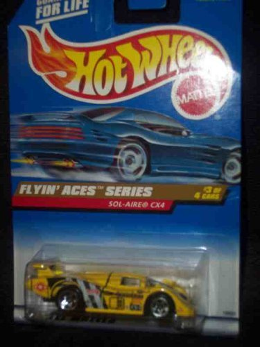 Flying Aces Series #3 Sol-Aire CX4 5-Spoke #739 Mint 1:64 Scale