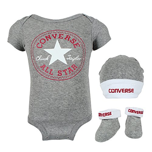 Converse Baby Grow 3 Piece Set Blue 0-6 Months