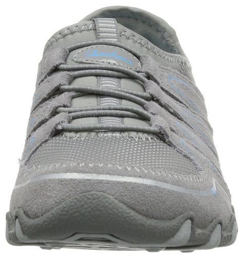 Skechers Bikers Sole Charmer Damen Sneakers Grau (Gry)