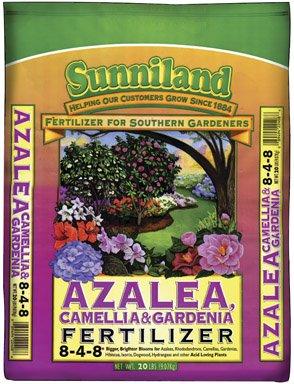 Sunniland Azalea , Camellia And Gardenia Fertilizer 8-4-8 Granules 20 -