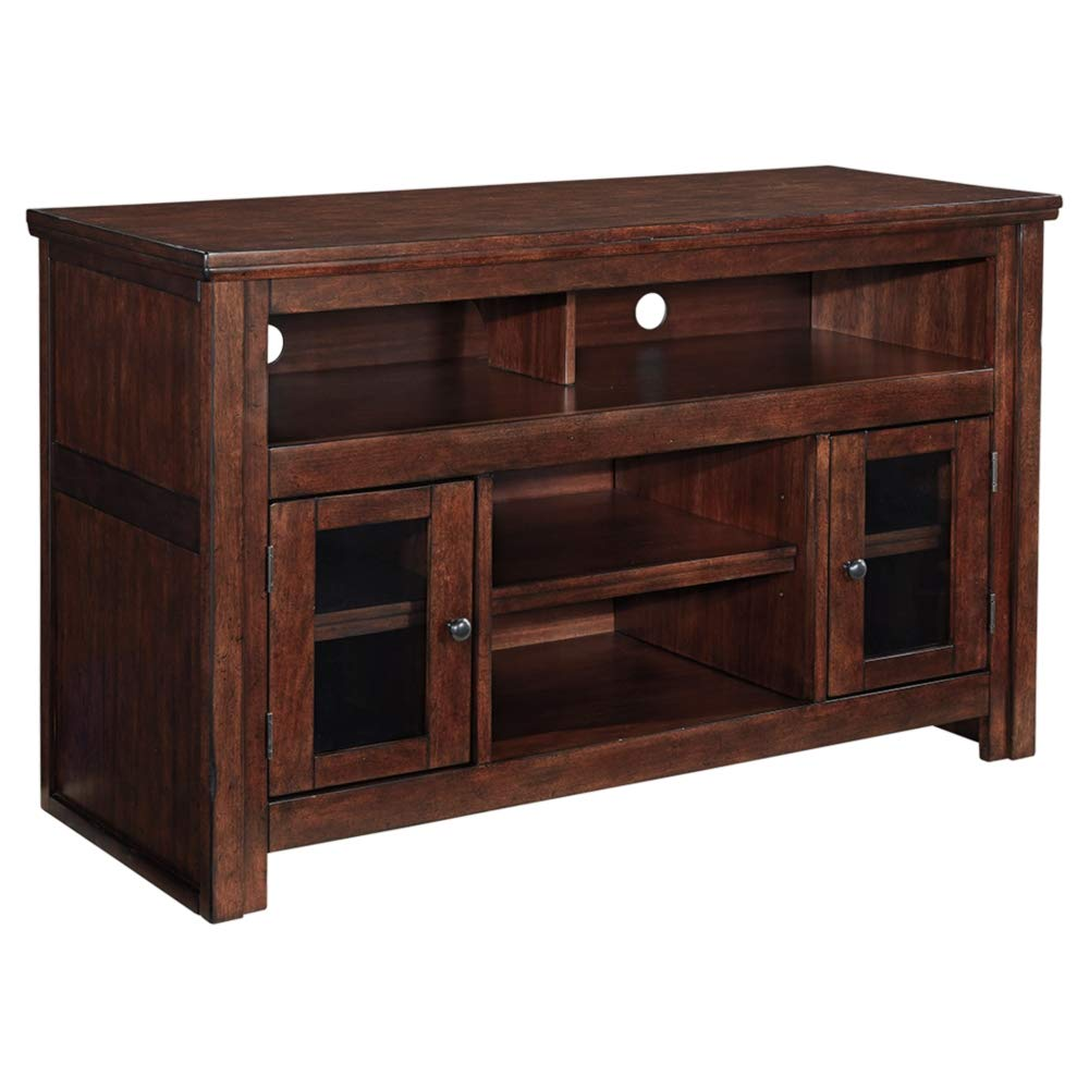 Ashley Furniture Signature Design - Harpan TV Stand - 50 in - Traditional Style - Brown by Signature Design by Ashley