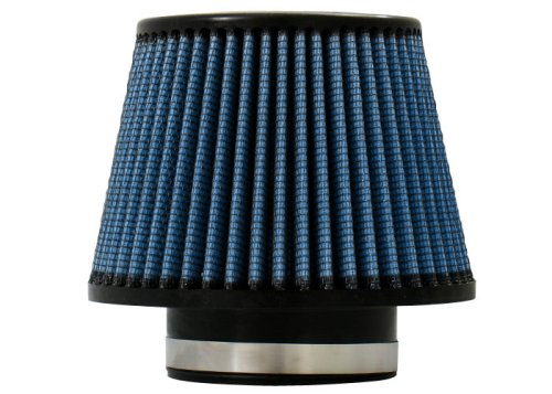 "Injen Technology X-1015-BB 3.5"" AMSOIL Ea Nano-Fiber Black and Blue Air Filter"