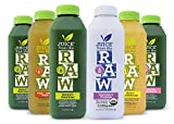 Juice from the RAW 3 Day ORGANIC Juice Cleanse - Believer Cleanse - 18 Bottles