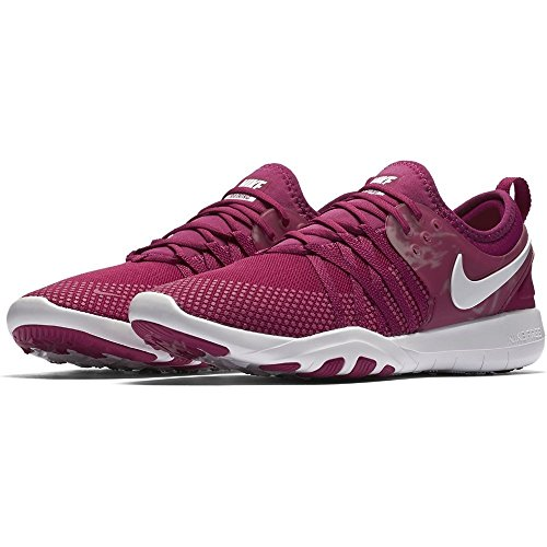 Nike Fuchsia Weiß Free WMNS Femme Chaussures TR Sport Violet Compétition 7 de Running FAgxFwrpq
