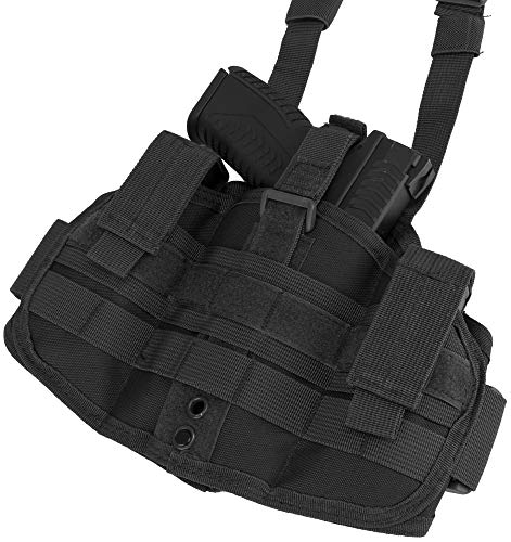 Evike Matrix Tactical Drop Leg Thigh Holster Rig (Color: Black)