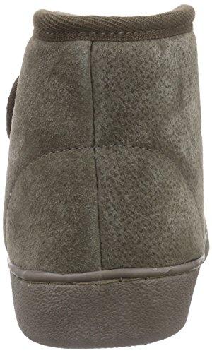 Zapatillas de casa de piel de oveja ATENAS Marrón