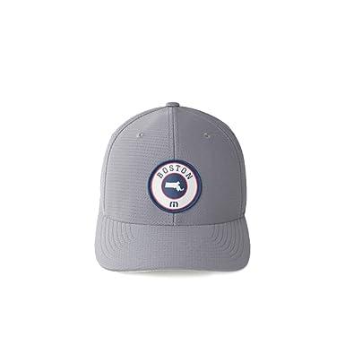Travis Mathew Wicked (Boston) Fitted Hat Grey (L XL) at Amazon Men s ... 6d4f4d8ba09