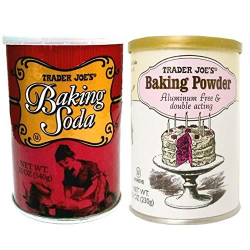 owder Aluminum Free & Double Acting 8.1 OZ and Baking Soda 12 OZ ()