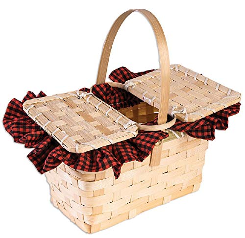 Forum Novelties 79084 Little Red Gingham Basket-Standard]()