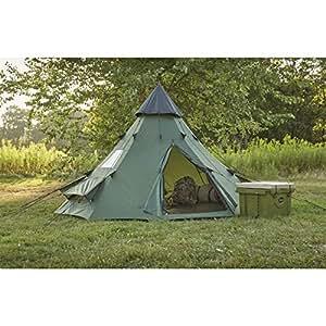 Amazon.com : Guide Gear Teepee Tent, 10' x 10