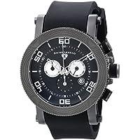 Swiss Legend Men's 30465-GM-01 Cyclone Analog Display Swiss Quartz Black Watch