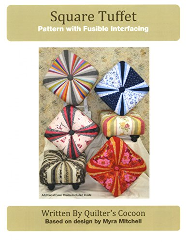 - Square Tuffet Pattern with Fusible Interfacing