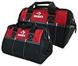 Husky 12 Inch and 15 Inch Water Resistant Tool Bag