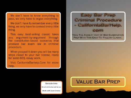 Amazon easy bar prep criminal procedure law school e book easy bar prep criminal procedure law school e book ivy black letter law fandeluxe Gallery
