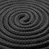 VSP 3-Pack 32 Feet 10M Soft Twisted Cotton Rope in Black