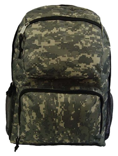 Price comparison product image ACU Digital Camo Backpack Daypack School Bag Military Army Student Book bag