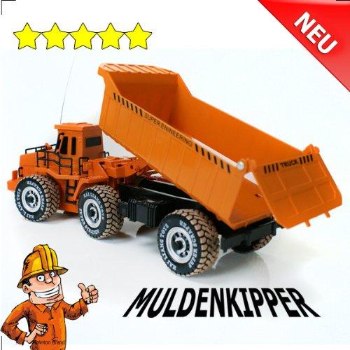 RC Muldenkipper Kipplader Bagger ferngesteuertes Baufahrzeug Super Truck 27 MHz V&V ®Noyan Unbekannt