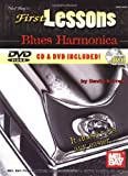 First Lessons Blues Harmonica, David Barrett, 0786625538
