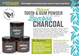 Natural Whitening Tooth & Gum Powder with Activated Charcoal (2.75 oz Spearmint)