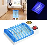 New Mosquito Fly Bug Insect Trap Zapper LED Electric Killer Night Lamp USA Plug