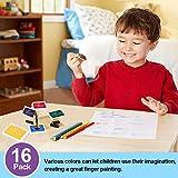 Finger Ink Pads for Kids Washable Craft Ink Stamp