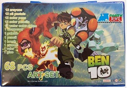 Ben 10 68 pc Art Set (Ben 10 Protector Of Earth Psp Game)