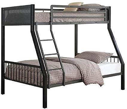 Amazon Com Coaster 460391 Co Meyers Collection Twin Full Loft Bunk