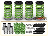 Rtunes Racing Honda Civic 88 89 90 91 92 93 94 95 96 97 98 99 00 Dx Ls Ex Lowering Green Coilover Spring Kits