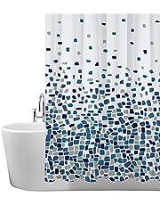 Cortinas de Ducha, para baño, bañera, Impermeable, Resistente al Moho, Anti