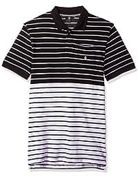 """<span class=""""a-offscreen"""">[Sponsored]</span>Men's Wowzer Modern Fit Stripe Polo"""