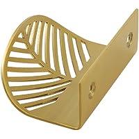 ZZALLL Bladvorm Messing deurknop meubilair handgrepen lade trekt kabinet deurknoppen